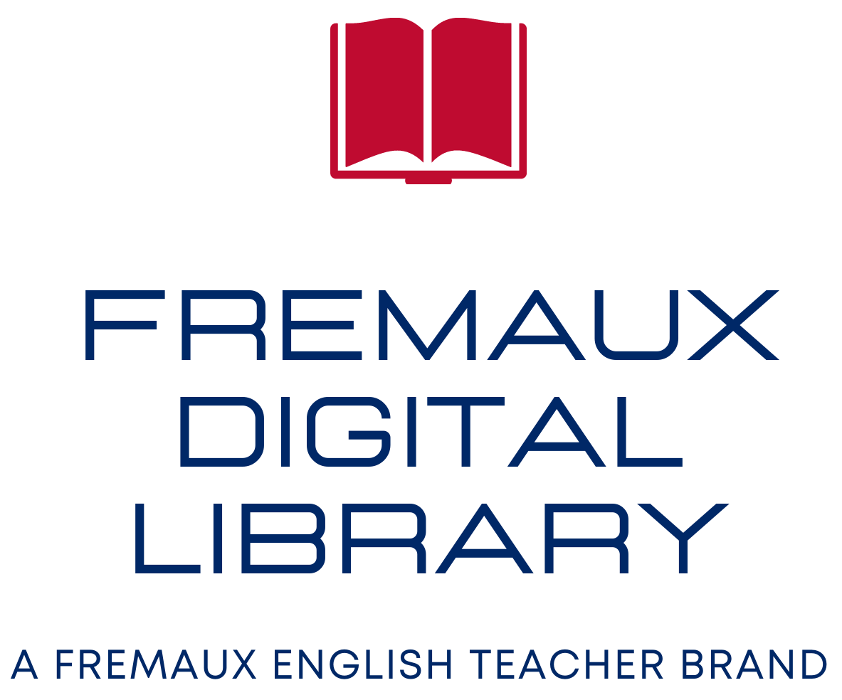 FREMAUX DIGITAL LIBRARY LOGO